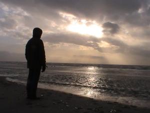 Heiko am Strand von Fanö